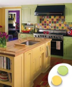 lemon and lime kitchen