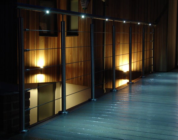 Lighting the way with LED Handrails