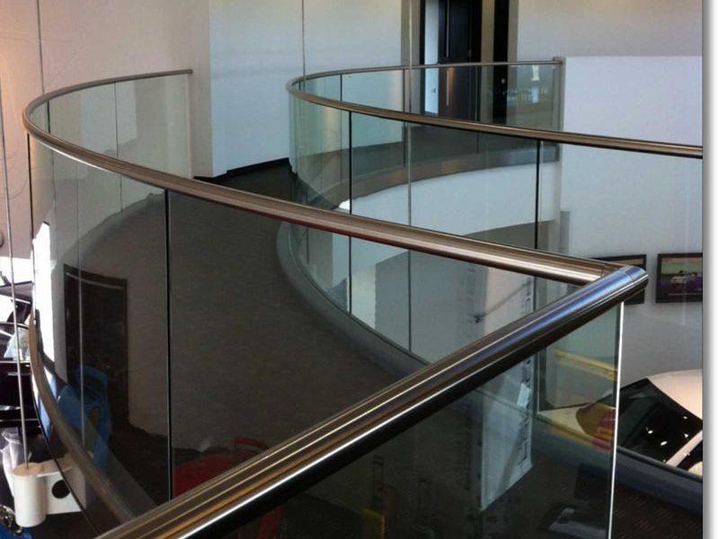 aluminium handrails
