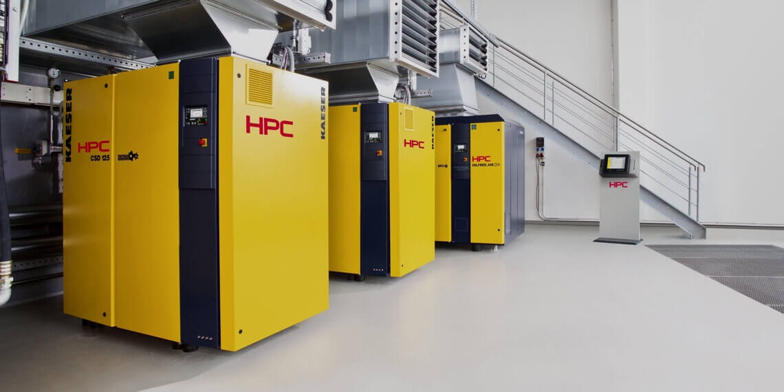 What is a rotary screw compressor?