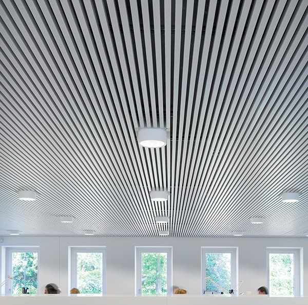 What are the benefits of acoustic ceilings