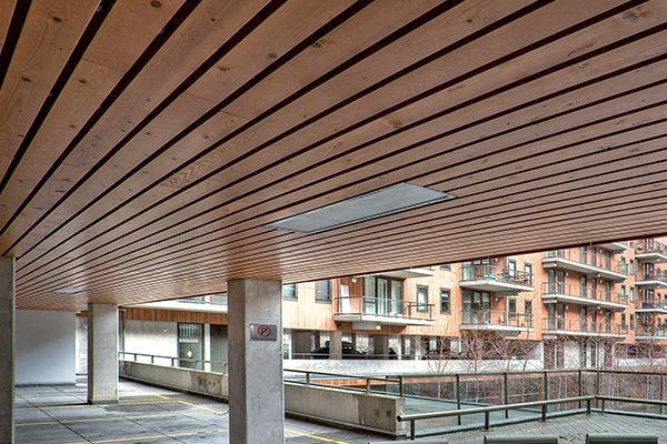 exterior wood ceilings