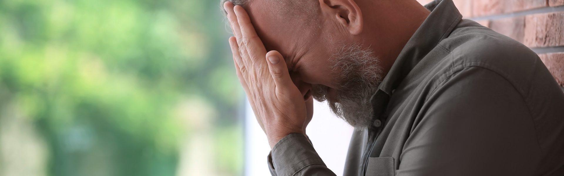 Mental health issues in men