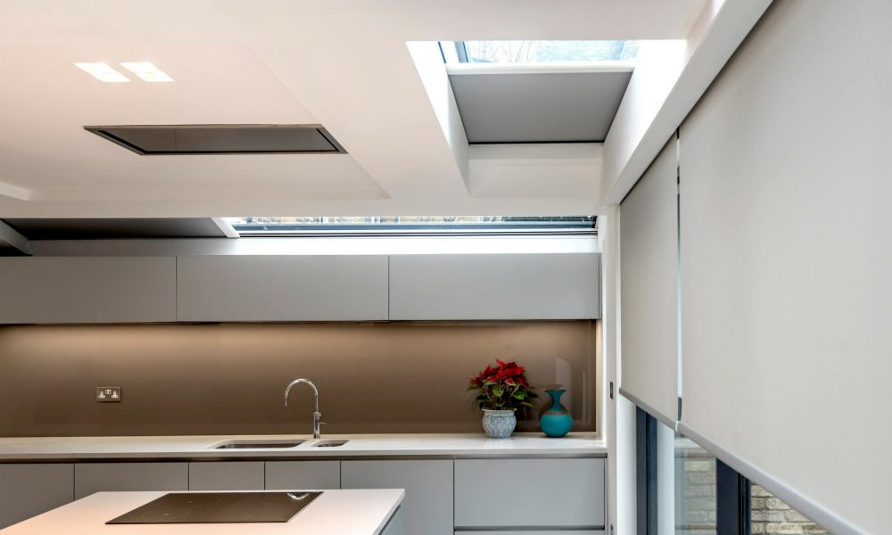 Controlling natural light with residential rooflight blinds