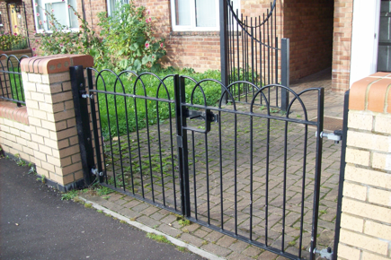 Galvanised Fencing perfect for the Winter